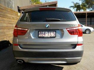 2013 BMW X3 F25 MY0413 xDrive20d Steptronic Grey 8 Speed Automatic Wagon