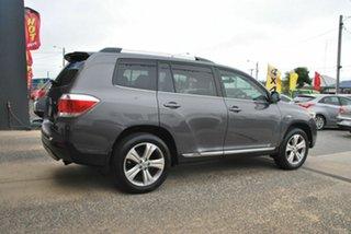 2012 Toyota Kluger GSU45R MY11 Upgrade KX-S (4x4) Grey 5 Speed Automatic Wagon