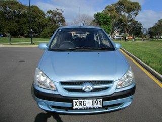 2007 Hyundai Getz TB Upgrade 1.4 Blue 4 Speed Automatic Hatchback.