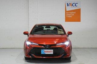 2019 Toyota Corolla Mzea12R Ascent Sport Orange 10 Speed Constant Variable Hatchback.