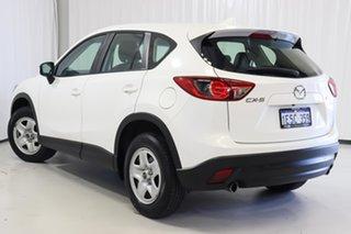 2015 Mazda CX-5 KE1072 Maxx White 6 Speed Manual Wagon.