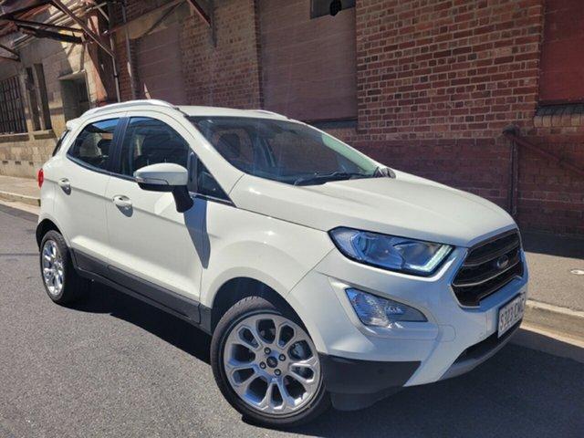 Used Ford Ecosport BL 2020.00MY Titanium Cheltenham, 2019 Ford Ecosport BL 2020.00MY Titanium White 6 Speed Automatic Wagon