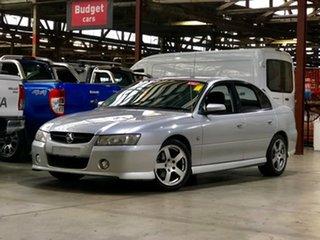 2006 Holden Commodore VZ MY06 SV6 Silver 5 Speed Sports Automatic Sedan.