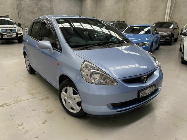 Used Honda Jazz GD GLi Coburg North, 2004 Honda Jazz GD GLi Blue 1 Speed Constant Variable Hatchback