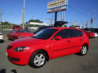 2008 Mazda 3 BK10F2 MY08 Neo Sport Red 4 Speed Sports Automatic Hatchback.