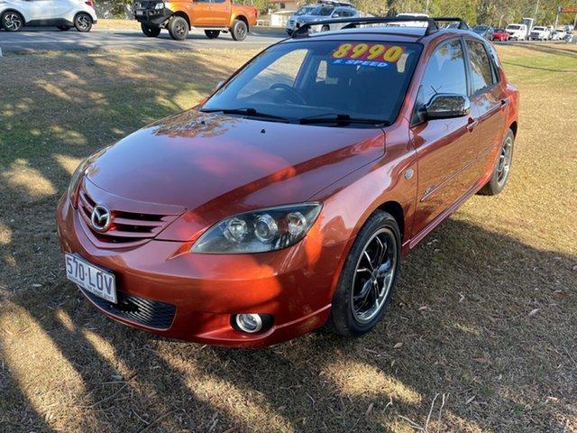 Used Mazda 3 BK1031 SP23 Clontarf, 2005 Mazda 3 BK1031 SP23 Gold 5 Speed Manual Hatchback