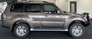 2013 Mitsubishi Pajero NW MY14 VR-X Brown 5 Speed Sports Automatic Wagon.