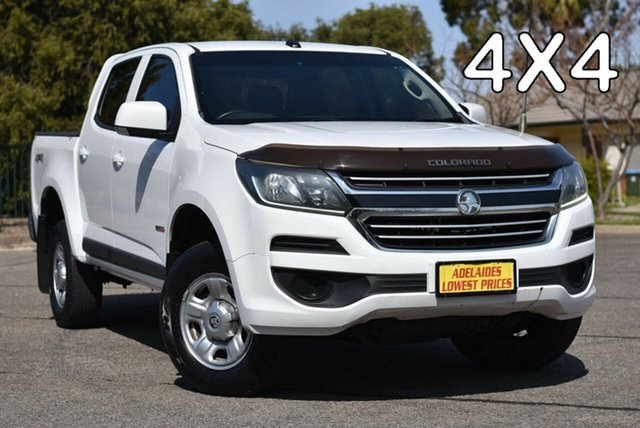 Used Holden Colorado RG MY17 LS Pickup Crew Cab Strathalbyn, 2016 Holden Colorado RG MY17 LS Pickup Crew Cab White 6 Speed Sports Automatic Utility