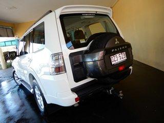 2012 Mitsubishi Pajero NW MY13 GLX-R LWB (4x4) White 5 Speed Auto Sports Mode Wagon