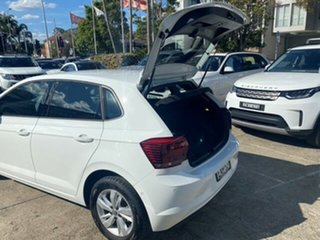 2018 Volkswagen Polo AW MY19 85TSI Comfortline White 7 Speed Auto Direct Shift Hatchback