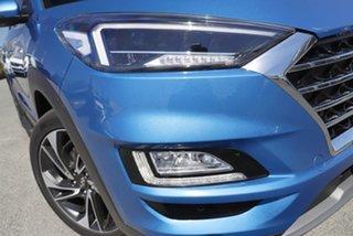 2019 Hyundai Tucson TL3 MY20 Highlander AWD Aqua Blue 8 Speed Sports Automatic Wagon.