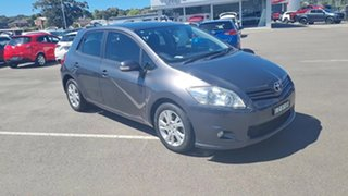 2012 Toyota Corolla ZRE182R Ascent Sport Grey 6 Speed Manual Hatchback.