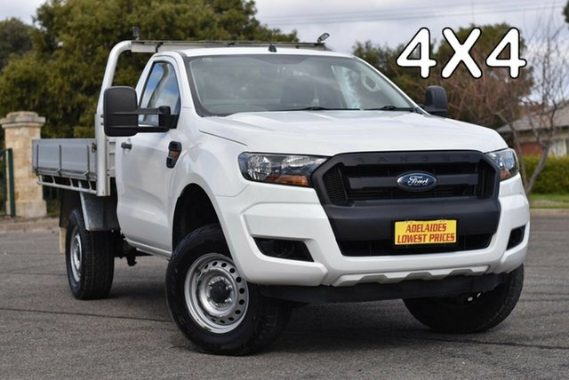 Used Ford Ranger PX MkII XL Strathalbyn, 2017 Ford Ranger PX MkII XL White 6 Speed Manual Cab Chassis