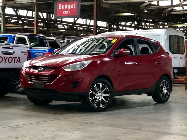 Used Hyundai ix35 LM MY11 Active Mile End South, 2011 Hyundai ix35 LM MY11 Active Red 6 Speed Sports Automatic Wagon