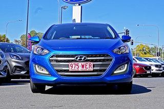 2015 Hyundai i30 GD4 Series II MY16 SR Blue 6 Speed Sports Automatic Hatchback.