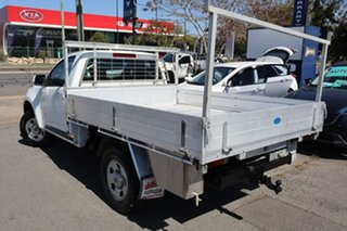 2012 Holden Colorado RG MY13 LX 4x2 White 5 Speed Manual Cab Chassis