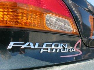 1997 Ford Falcon EL Futura Green 4 Speed Automatic Sedan