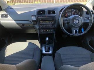 2012 Volkswagen Polo 6R MY12.5 77TSI DSG Comfortline Blue 7 Speed Sports Automatic Dual Clutch