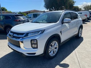 2021 Mitsubishi ASX XD MY21 LS 2WD White 1 Speed Constant Variable Wagon.