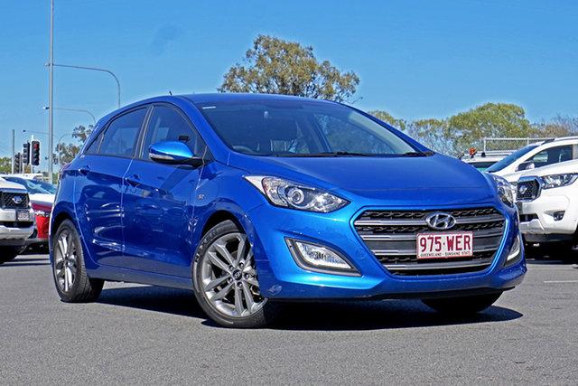 Used Hyundai i30 GD4 Series II MY16 SR Ebbw Vale, 2015 Hyundai i30 GD4 Series II MY16 SR Blue 6 Speed Sports Automatic Hatchback