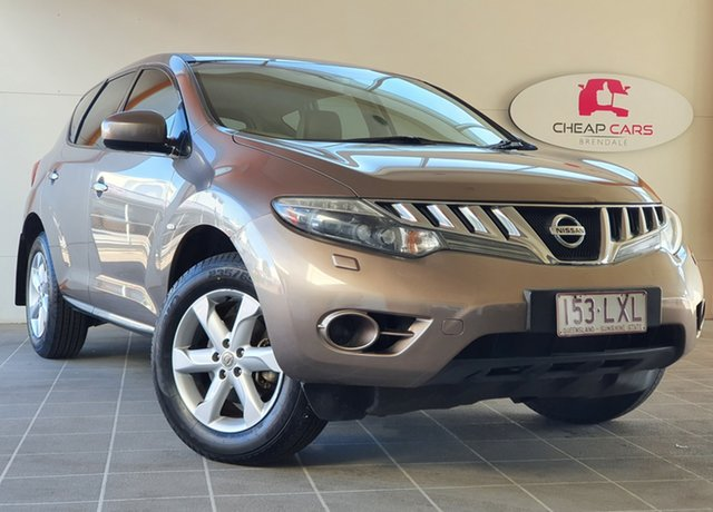 Used Nissan Murano Z51 ST Brendale, 2009 Nissan Murano Z51 ST Bronze 6 Speed Constant Variable Wagon
