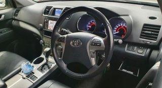 2013 Toyota Kluger GSU40R MY12 KX-S 2WD White 5 Speed Sports Automatic Wagon.