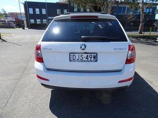 2016 Skoda Octavia NE MY17 Ambition 110TSI White 6 Speed Manual Wagon