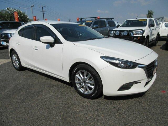 Used Mazda 3 BN5476 Neo SKYACTIV-MT Sport Winnellie, 2018 Mazda 3 BN5476 Neo SKYACTIV-MT Sport White 6 Speed Manual Hatchback
