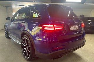 2017 Mercedes-Benz GLC-Class X253 GLC43 AMG 9G-Tronic 4MATIC Blue 9 Speed Sports Automatic Wagon