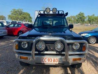 1991 Nissan Patrol GQ ST Blue 4 Speed Automatic Wagon.