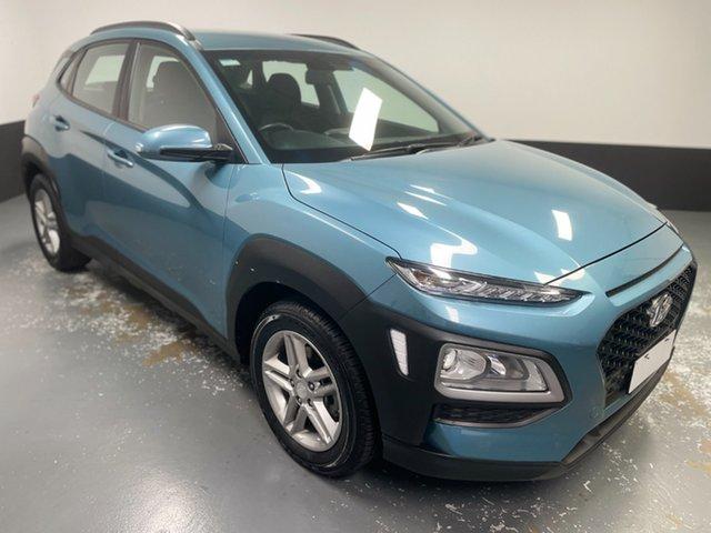 Used Hyundai Kona OS.2 MY19 Active 2WD Hamilton, 2019 Hyundai Kona OS.2 MY19 Active 2WD Blue 6 Speed Sports Automatic Wagon