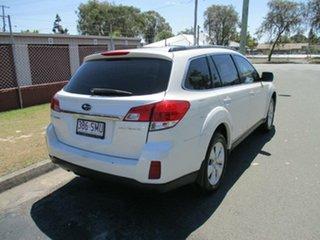 2009 Subaru Outback B5A MY10 2.5i AWD White 6 Speed Manual Wagon