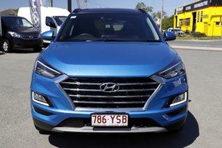 2019 Hyundai Tucson TL3 MY20 Highlander AWD Aqua Blue 8 Speed Sports Automatic Wagon