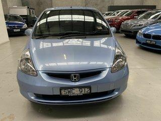 2004 Honda Jazz GD GLi Blue 1 Speed Constant Variable Hatchback.