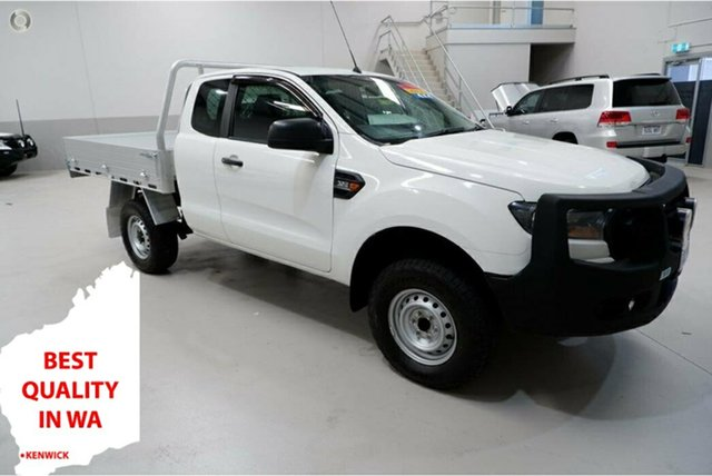 Used Ford Ranger PX MkII 2018.00MY XL Kenwick, 2018 Ford Ranger PX MkII 2018.00MY XL White 6 Speed Sports Automatic Cab Chassis