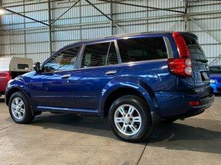 2013 Great Wall X200 K2 MY13 Blue 5 Speed Automatic Wagon