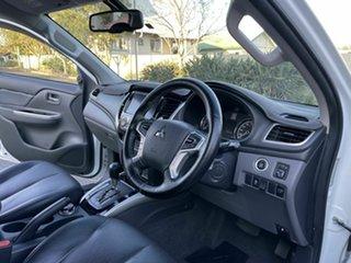 2016 Mitsubishi Triton MQ Exceed White 6 Speed Automatic Dual Cab