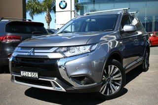 2019 Mitsubishi Outlander ZL MY19 ES 5 Seat (2WD) Grey 5 Speed Manual Wagon.