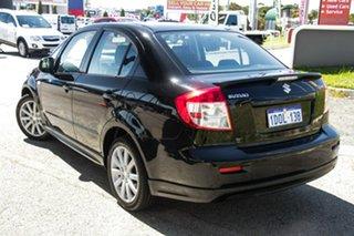 2010 Suzuki SX4 GYC MY10 S Black 6 Speed Constant Variable Sedan.