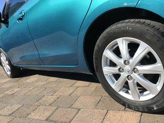 2012 Toyota Yaris NCP131R YRX Blue 4 Speed Automatic Hatchback