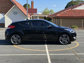2016 Hyundai Veloster FS4 Series II + Coupe D-CT Black 6 Speed Sports Automatic Dual Clutch.
