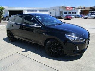 2017 Hyundai i30 GD5 Series II MY17 SR Premium Black 6 Speed Sports Automatic Hatchback.