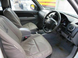 2010 Ford Ranger PK XL Hi-Rider (4x2) White 5 Speed Manual Dual Cab Pick-up