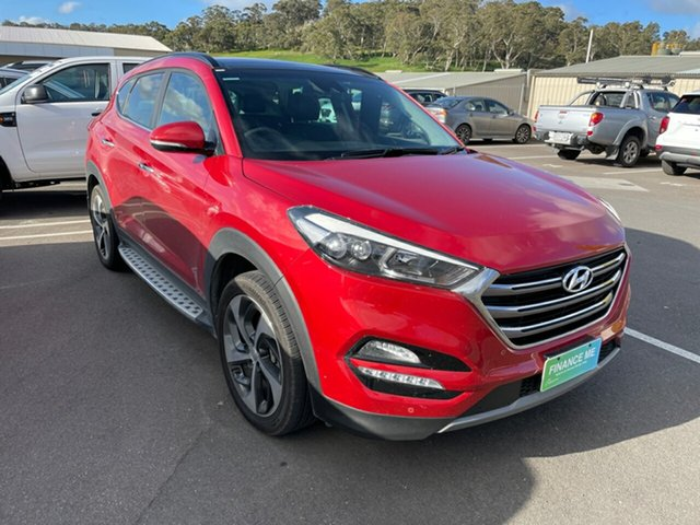 Used Hyundai Tucson TLe MY17 Highlander D-CT AWD Totness, 2016 Hyundai Tucson TLe MY17 Highlander D-CT AWD Ultimate Red 7 Speed Sports Automatic Dual Clutch