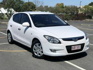 2012 Hyundai i30 FD MY11 SX White 4 Speed Automatic Hatchback.