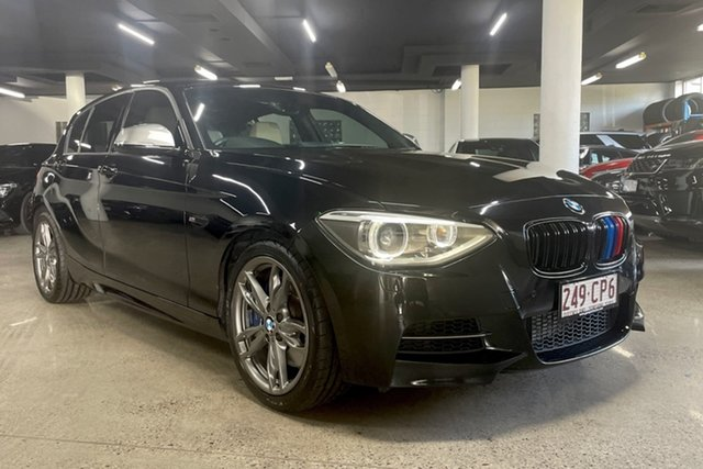 Used BMW 1 Series F20 MY1113 M135i Albion, 2014 BMW 1 Series F20 MY1113 M135i Black 8 Speed Sports Automatic Hatchback