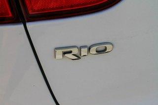 2011 Kia Rio UB MY12 S White 6 Speed Manual Hatchback