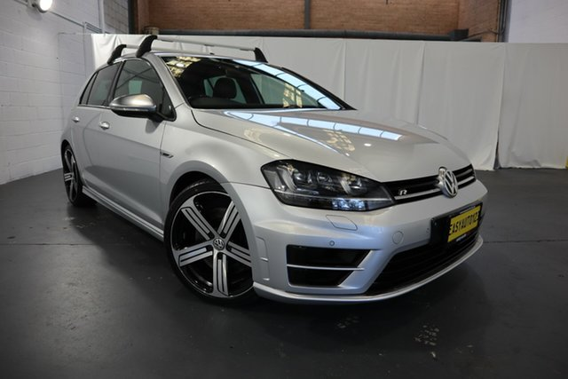 Used Volkswagen Golf VII MY16 R DSG 4MOTION Castle Hill, 2015 Volkswagen Golf VII MY16 R DSG 4MOTION Silver 6 Speed Sports Automatic Dual Clutch Hatchback