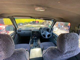 1991 Nissan Patrol GQ ST Blue 4 Speed Automatic Wagon