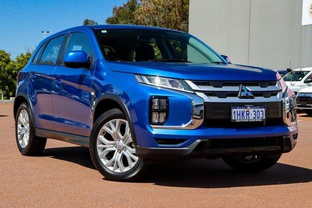 Used Mitsubishi ASX XC MY19 ES 2WD Cannington, 2019 Mitsubishi ASX XC MY19 ES 2WD Blue 1 Speed Constant Variable Wagon